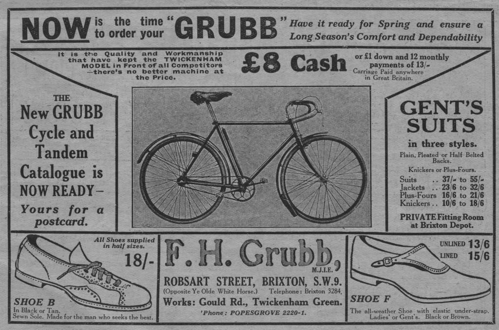 F H Grubb 1925 001